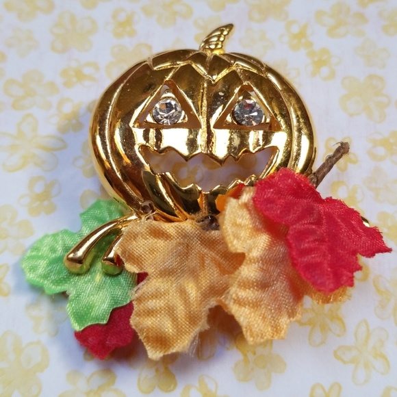 Avon Jewelry Vintage Halloween Fall Harvest Brooch Poshmark